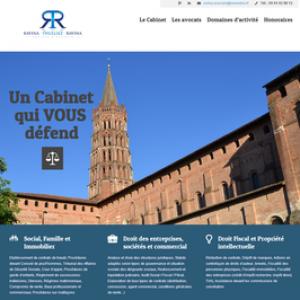 Nouveau site Avocats Ravina Thulliez
